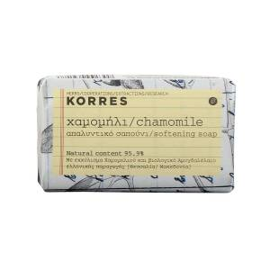 Korres Cleansers: Мыло для лица с ромашкой (Chamomile Softening Soap), 125 гр