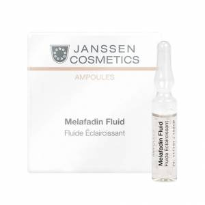 Janssen Cosmetics Skin Excel Glass Ampoules: White Secrets Mela-Fadin skin lightening (Осветляющие ампулы)