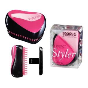 Tangle Teezer: Тангл Тизер Compact Styler Pink Sizzle
