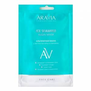 Aravia Laboratories: Альгинатная маска с экстрактом мяты и спирулины (Ice Seaweed Algin Mask), 30 гр