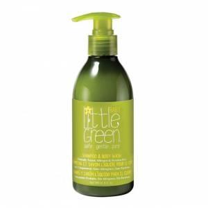 Little Green Baby: Шампунь и гель для тела. Без слез (Shampoo & Body Wash), 240 мл
