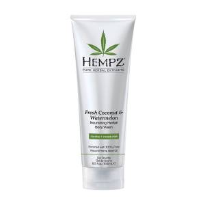 Hempz: Гель для душа Кокос и Арбуз (Fresh Coconut & Watermelon Herbal Body Wash), 250 мл