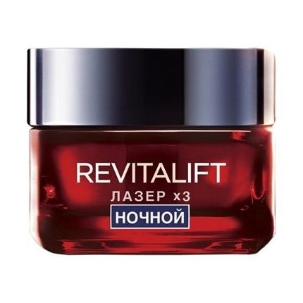 L'Oreal Paris Revitalift: Дермо Экспертиз Ревиталифт Лазер Х3 Ночнная крем-маска