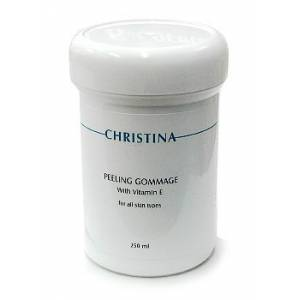 Christina: Пилинг-гоммаж с витамином Е для всех типов кожи (Peeling Gommage with Vitamin E), 250 мл