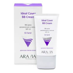 Aravia Professional: BB-крем увлажняющий SPF-15, тон 02 (Ideal Cover BB-Cream Sand), 50 мл