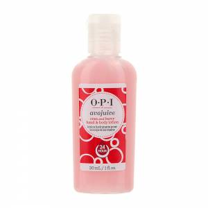 Opi Avojuice: Лосьон для рук Брусника/Клюква (Cran And Berry Hand & Body Lotion), 30 мл