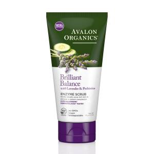 Avalon Organics: Энзимный скраб для кожи лица с лавандой (Exfoliating Enzyme Scrub), 115 гр