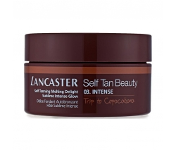Lancaster Self Tan Beauty: Автобронзант яркий загар 03 интенсивный Поездка в копакабану (Self Tanning Melting Delight Sublime Intense Glow), 200 мл