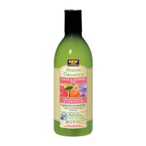 Avalon Organics: Гель для душа с маслом грейпфрута и герани (Grapefruit & Geranium Bath & Shower Gel), 355 мл