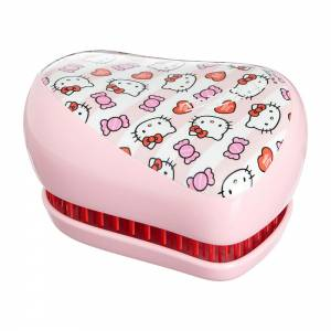 Tangle Teezer: Тангл Тизер Compact Styler Hello Kitty Candy Stripes (розовый)