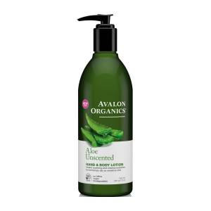 Avalon Organics: Лосьон для рук и тела с соком алое без запаха (Aloe Unscented LTN), 360 мл