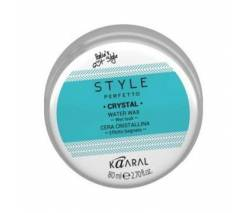 Kaaral Style Perfetto: Воск для волос с блеском (Crystal Water Wax), 80 мл
