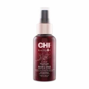 CHI Rose Hip Oil Color Nurture: Тоник для волос с маслом шиповника (Repair Shine Leave-In Tonic)