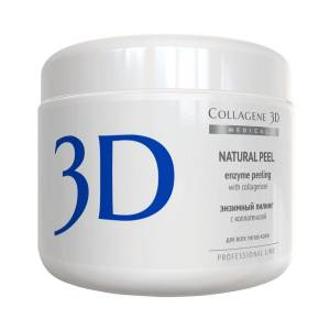 Medical Collagene 3D: Пилинг с коллагеназой Проф. (Natural Peel Enzyme Peeling with Collagenase Professional), 150 мл