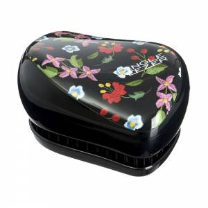 Tangle Teezer: Тангл Тизер Compact Styler Embroidered Floral (черный)