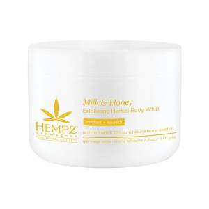 Hempz: Скраб для тела Молоко и Мёд (Milk & Honey Herbal Sugar Body Scrub), 176 гр