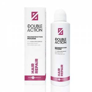 Hair Company Double Action: Восстанавливающий мусс (Reconstruction Mousse), 200 мл