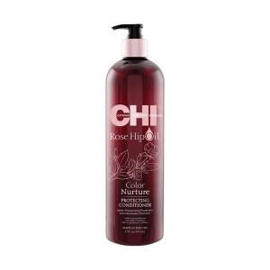 CHI Rose Hip Oil Color Nurture: Кондиционер для волос с маслом шиповника (Protecting Conditioner)