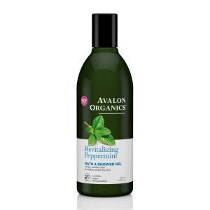 Avalon Organics: Гель для душа с маслом мяты (Peppermint Bath & Shower Gel), 355 мл