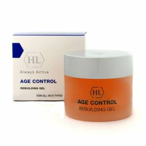 Holy Land Age Control: Rebulding gel (восстанавливающий гель), 50 мл