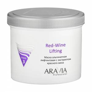 Aravia Professional: Маска альгинатная лифтинговая с экстрактом красного вина (Red-Wine Lifting), 550 мл