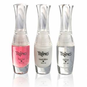 Trind: French Manicure Set Pink Набор для французского маникюра розовый, 3 шт по 9 мл