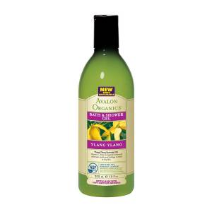 Avalon Organics: Гель для душа с маслом иланг-иланг (Ylang Ylang Bath & Shower Gel), 355 мл