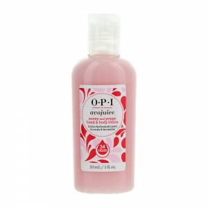 Opi Avojuice: Лосьон для рук Пион/Мак (Peony And Poppy Hand & Body Lotion), 30 мл