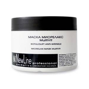 New Line Professional: Маска миорелакс MultiVit, 300 мл